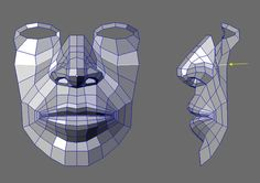 CGArena : Detailed Head Modeling.. this is great step by step topology pics. the nose is especially good example
