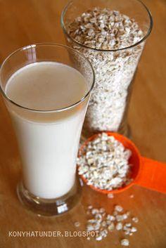oat milk Nut Free, Glass Of Milk, Paleo, Biscotti, Good Food, Health Fitness, Healthy Recipes, Vegan, Drinks