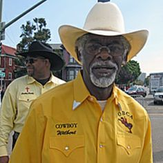 """Thanks to Hollywood, the word """"cowboy"""" conjures up images of tough, independent men: solitary, weather-beaten and...white. But many of the Old West cowboys were African-American.   Each October, the Black Cowboy Parade in Oakland, California celebrates the role African-Americans played in settling the West after the Civil War of the 1860s."""