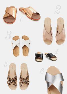 Summer Lovin: Crossover Sandals | The Daily Mark