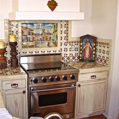 Amazing New Mexican style kitchen