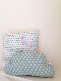 Beautiful cloud cushion by rubyandjoy on Etsy, £13.50