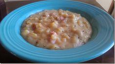 clean crockpot ham and potato soup