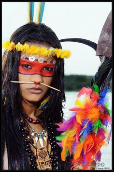 Indígena del Amazonas