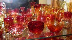 Amberina Glass
