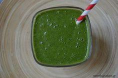 Πράσινο Smoothie με Σπανάκι & Βρώμη | Raw-Vegan