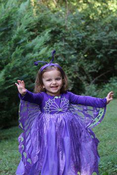 Adorable little girls butterfly costume from @chasingfireflie #chasingtreats2014 #halloween #costume #sponsored