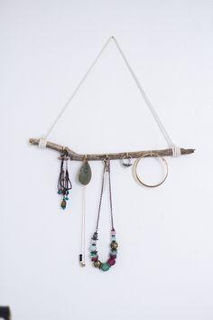 DIY n°1 : un porte-bijoux | Carnet de printemps