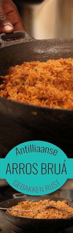 Arros bruá is de Antilliaanse manier om restjes van de vorige dag op te maken. Onze versie van 'nasi' dus! Je maakt de lekkerste aros brua met ons recept
