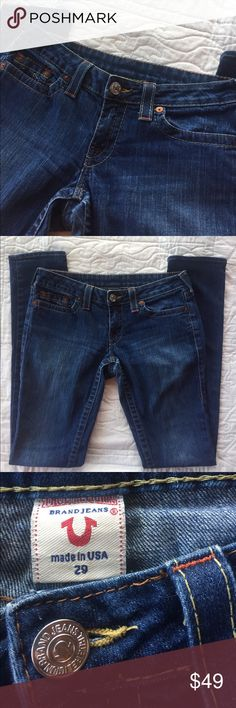 "🌼Just In🌼True Religion 29 Skinny Jean True Religion 29 Skinny Jean. Original hem. Inseam 35.5"". Great condition! True Religion Jeans Skinny"