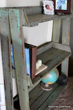 Bookshelf at Beyond The Picket Fence