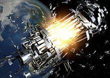 Estudo prevê colisões catastróficas de lixo espacial com satélites   aliens & androids technologies