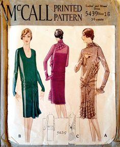 McCall 5439 (1928)