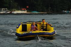 Water fun on Deep Creek Lake http://www.deepcreekvacations.com