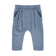 Pantalón Cintura Elástica Good Mood Graublau Blune Kids - Kindermode - Smallable