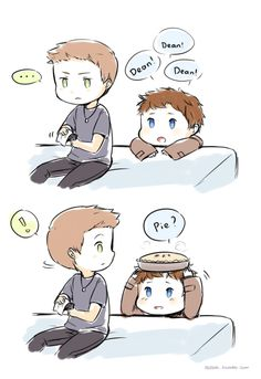 I now have supernatural chibi.... my life is complete