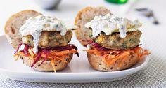 Indiaase-veggieburger
