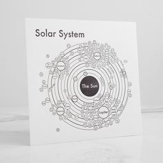 Solar System Letterpress