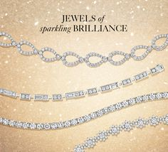 Jewels of sparkling brilliance