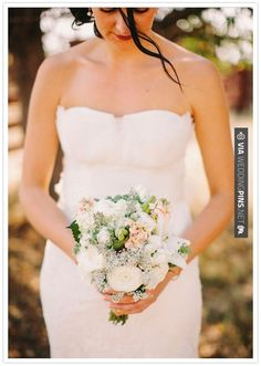 bride bouquet with roses Boutonnieres, Eucalyptus Bouquet, Seeded Eucalyptus, Pink Garden, Garden Roses, White Ranunculus, Autumn Bride, White Lilies, Gray Weddings