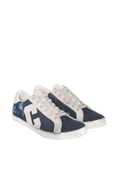COLORADO DENIM Damen »Sneaker« für 79,95€. Damen Sneaker, Schnürung, Vintage Optik, Gepolsterter Schaftrand, Seitlich aufgenähtes Logo bei OTTO