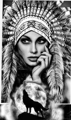 American Indian Girl, Native American Girls, Native American Wisdom, Native American Beauty, Native American Tribes, Native American Drawing, Native American Tattoos, Native Tattoos, Native American Paintings