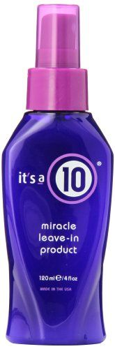 awesome It's A 10 Miracle Leave In Product, 4-Ounces