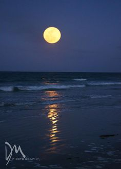 Super Full Moon in New Smyrna Beach, Florida on 5/5/2012