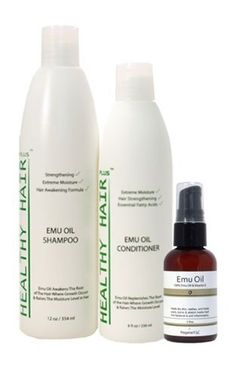 Healthy Hair Plus - Emu Oil Hair Kit ** Continue to the product at the image link.