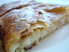 Another one grandpa use to make. cheese strudel.