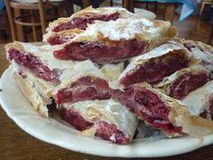Serbia Recipe, Hungarian Recipes, Hungarian Food, M&m Recipe, Novi Sad, Strudel, Bagel, Pie, Food To Make