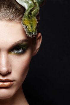 Snake : Beautiful Fashion Photography - Fun Gagz