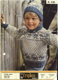Yeah this is just weird. this looks exactly like Jenifer at a young age and just like Tatum now. Knitting For Kids, Knitting Projects, Baby Knitting, Reindeer Sweater, Ski Sweater, Children In Need, Baby Sweaters, Little Ones, Babys