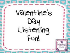 Practicing auditory comprehension skills has never been easier - or more fun! - with this fun Valentine's Day-themed activity pack! This 4-in-1 pack covers categories, cause and effect, visualizing, and following directions. It's perfect for elementary students!***************************************************************************What awesome resources are included?
