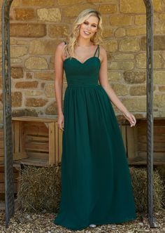Pleated Bridesmaid Dress with Skinny Straps Bridesmaids, Bridesmaid Dresses, Wedding Dresses, Dress Skirt, Skinny, Fashion, Bride Maid Dresses, Bride Gowns, Formal Skirt