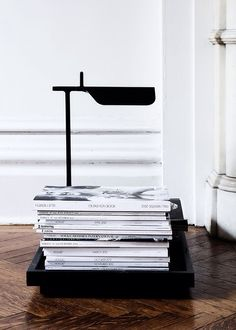 tab table lamp by flos House Design Photos, Home Design, Design Room, Design Hotel, Beautiful Interior Design, Beautiful Interiors, Interior Styling, Interior Decorating, Interiores Design