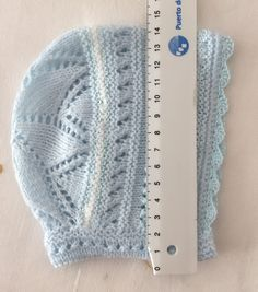 Blog Abuela Encarna Baby Knitting Patterns, Baby Hats Knitting, Crochet Baby Hats, Crochet For Kids, Baby Patterns, Knit Crochet, Sewing Patterns, Crochet Patterns, Knitted Booties