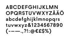 typographic-journal:  Acne StudiosDesigned by Acne Studios in...