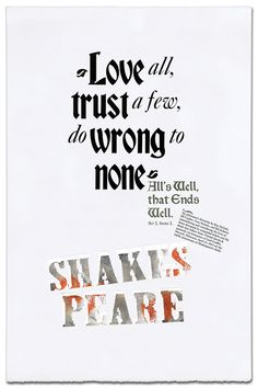 shakespeare poster - Google Search