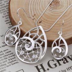 wholesale 925 sterling silver Set LK-WSSS1712