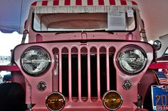 The forefront of Pink Jeeps