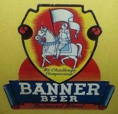 BANNER BEER • WE CHALLENGE COMPARISON