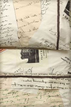 love letter sheets from anthropologie @Anthropologie