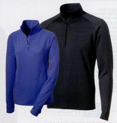 Sport-tek Tall Sport-wick Stretch 1/2 Zip Pullover