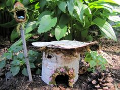 DIY Fairy Garden House