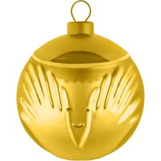 Alessi kerstbal Angioletto Goud