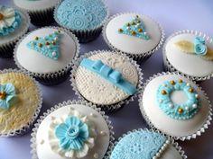 Blue Christmas from the Brown Eyed Girl Bakery