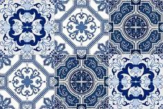 Resultado de imagem para estilo azulejo portugues