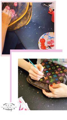 Painted Bags, Hand Painted, One Stroke, Jute Bags, Custom Bags, Hobbies And Crafts, Louis Vuitton Speedy Bag, Diy Gifts, Handbags