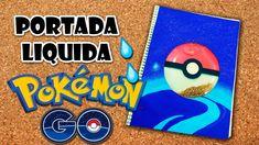 DIY   Cuaderno Liquido de Pokemon Go   Fácil   PumitaNegraArt